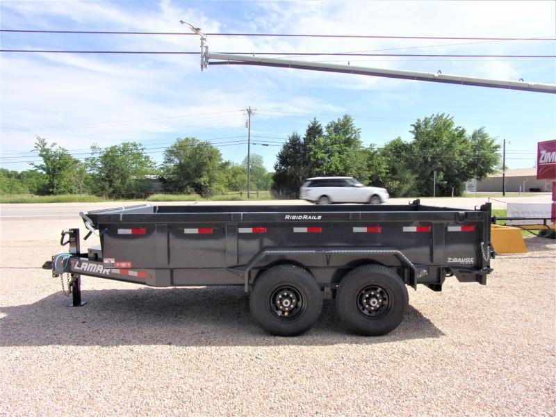 2021 Lamar Trailers 83 x 14' Low Pro Dump Trailer GVWR 14K