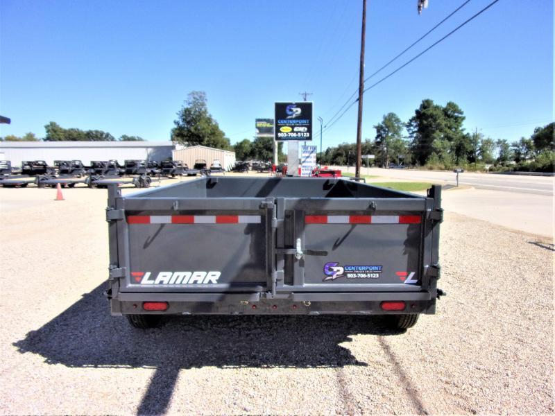 2021 Lamar Trailers 83 x 12' Low Pro Dump Trailer GVWR 14K