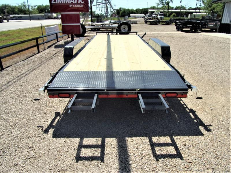 "2021 Lamar Trailers 83"" X 22' Bumper Pull Equipment Hauler GVWR 14K"