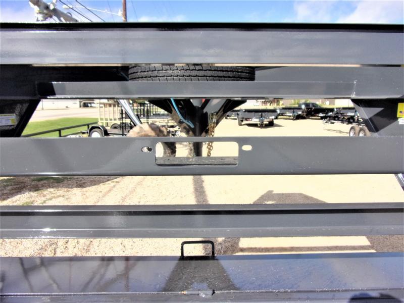 "2021 LAMAR 102"" X 32' HD GOOSENECK LOWBOY / CAR HAULER GVWR 14K"