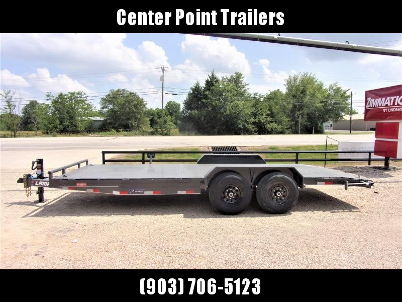 "2021 LAMAR 83"" X 20' EQUIPMENT HAULER GVWR 14K"
