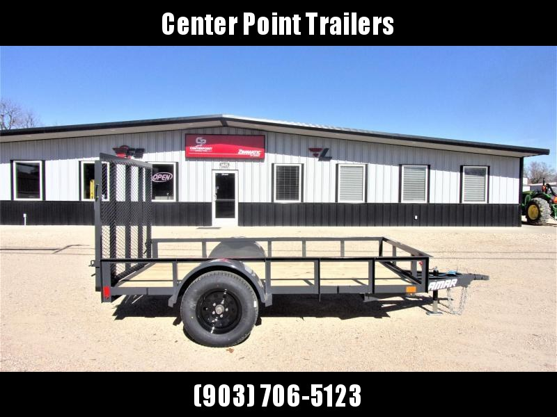 2021 Lamar Trailers 60x10 Single Axle Utility GVWR 2990 Utility Trailer