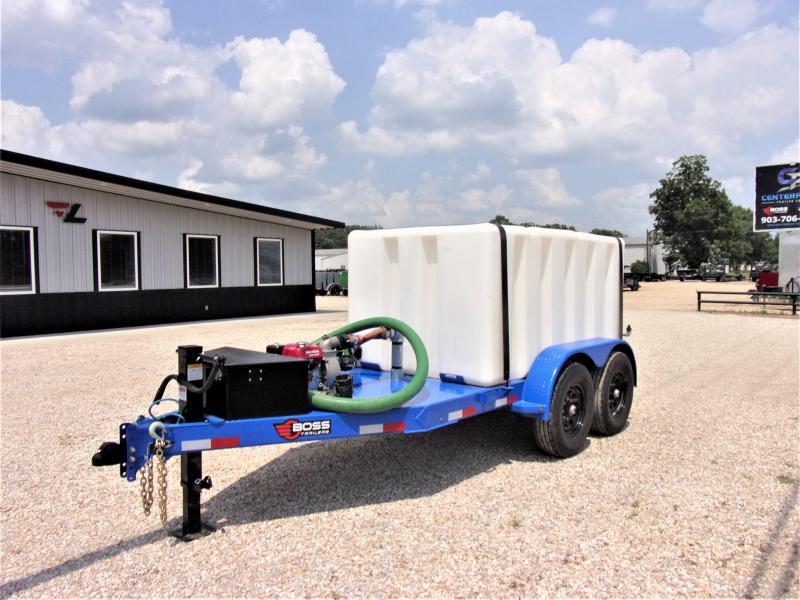 2021 BOSS Water Transport/Spraying Trailer GVWR 14K