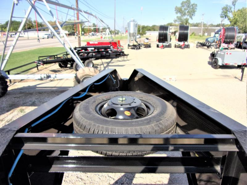 "2021 Lamar Trailers 102"" x 36' XD Gooseneck Deck Over Hydraulic Tail GVWR 20K"
