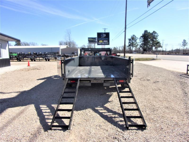 2021 Lamar Trailers 83 x 14 Low Pro Gooseneck Dump Trailer GVWR 14K