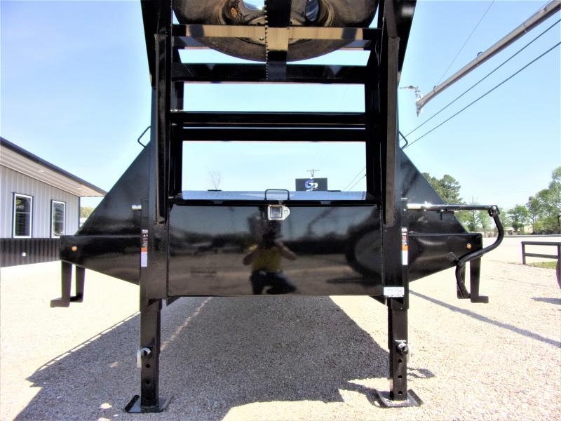 "2021 Lamar 102"" X 40' Gooseneck Low Pro XD Deck Over GVWR 24K"