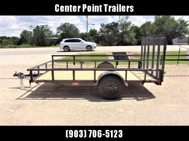 2020 Lamar Trailers 77x12 Single Axle Utility GVWR 2990 Utility Trailer
