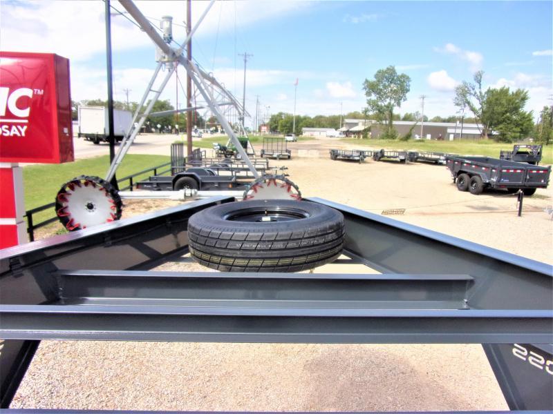 "2021 BOSS TRAILERS 102"" X 36' HD GOOSENECK LOWBOY / CAR HAULER GVWR 14K"