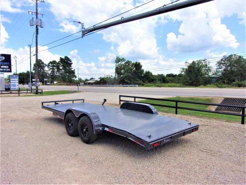"2021 LAMAR TRAILERS 83"" X 20' CLASSIC CAR HAULER 10K"