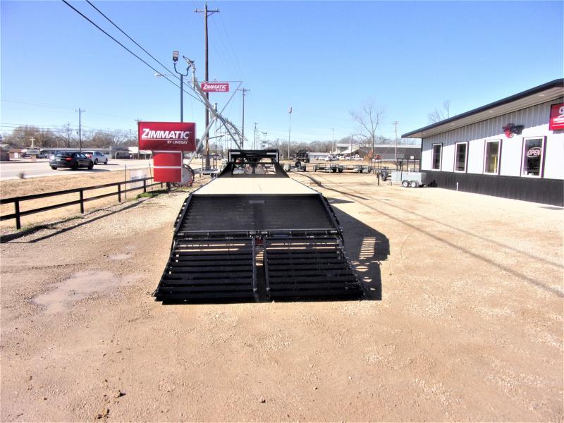 "2021 Lamar 102"" X 25' Gooseneck Deck Over GVWR 14K"