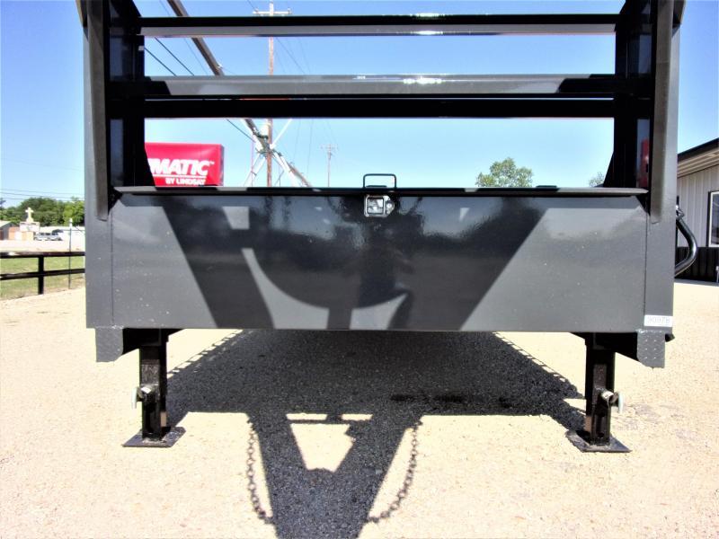 "2021 LAMAR 102"" X 26' HD GOOSENECK LOWBOY / CAR HAULER GVWR 14K"