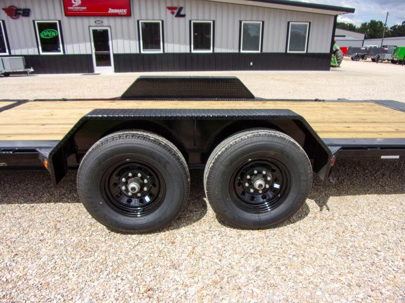 "2022 Load Trail 83"" x 22' Tilt Deck Equipment Trailer GVWR 14K"