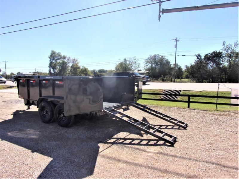 2021 Lamar Trailers 83 x 14' Low Pro Dump Trailer GVWR 14K