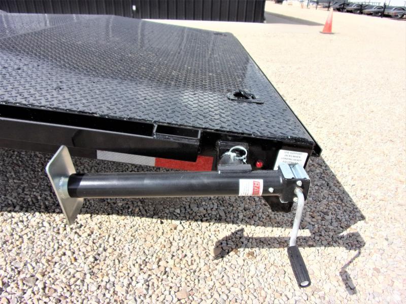 "2020 LAMAR 102"" X 40' HD GOOSENECK LOWBOY / CAR HAULER GVWR 21K"