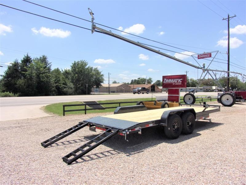 "2021 Lamar Trailers 83"" X 20' Bumper Pull Equipment Hauler GVWR 14K"