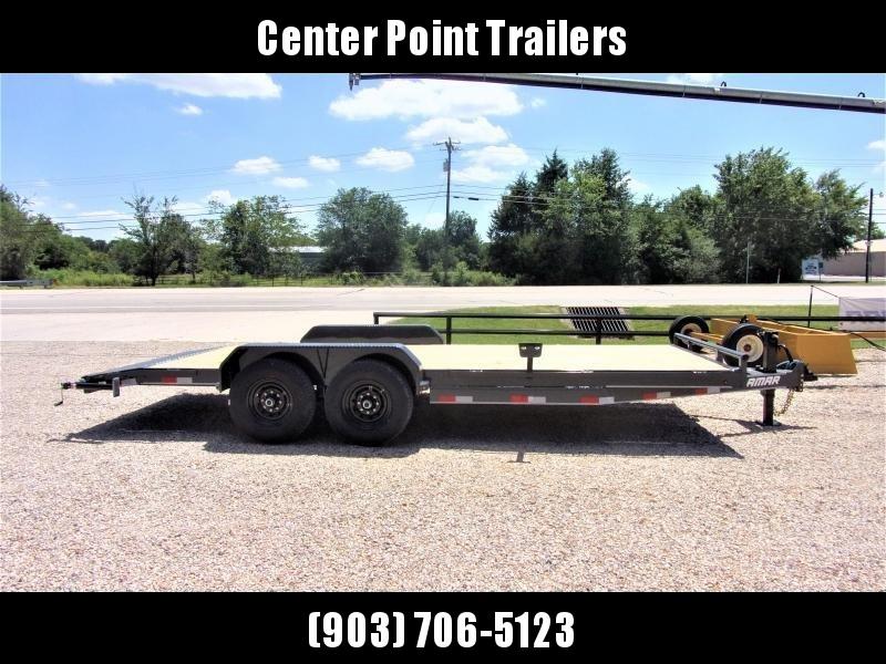 "2021 Lamar Trailers 83"" X 20' Bumper Pull Equipment Hauler GVWR 14K"