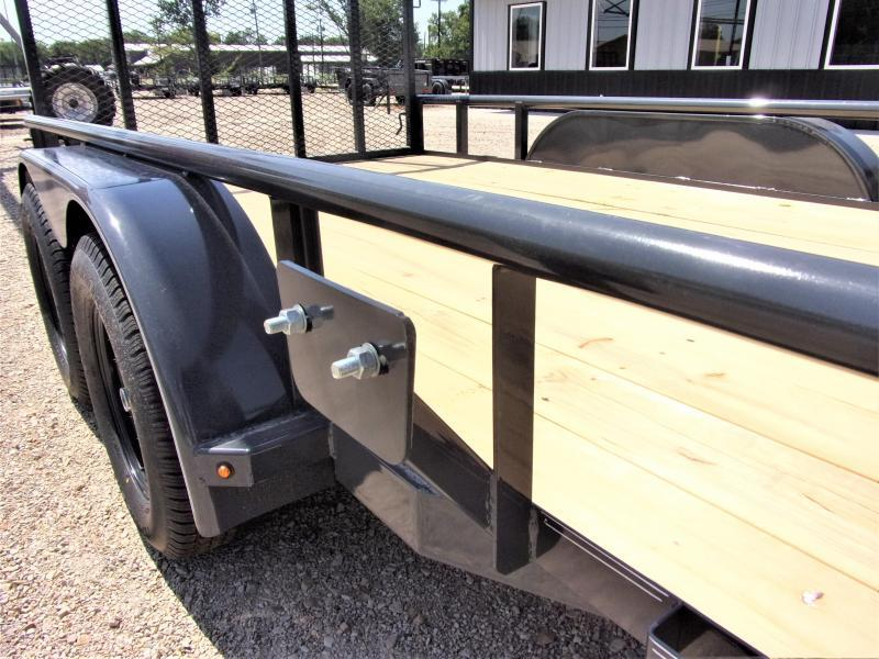 "2020 Lamar Tandem Axle Utility Trailer 83"" X 14' GVWR 7K"