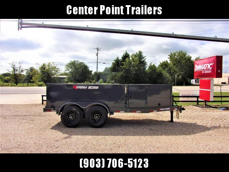2021 Farm Boss 990 Gal Tank Trailer GVWR 14K
