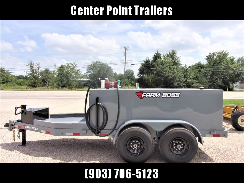 2021 Farm Boss FB990 Tank Trailer 990 Gal GVWR 14K