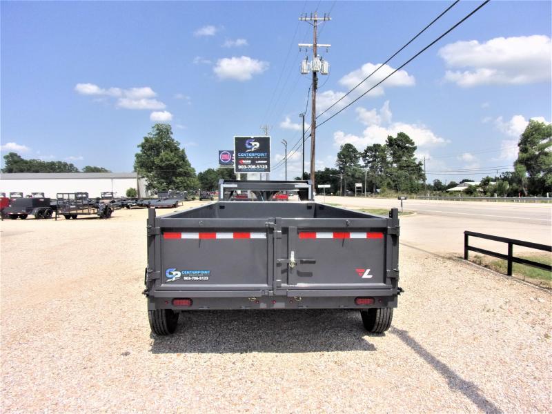 2021 Lamar Trailers 83 x 16 Low Pro Gooseneck Dump Trailer GVWR 21K