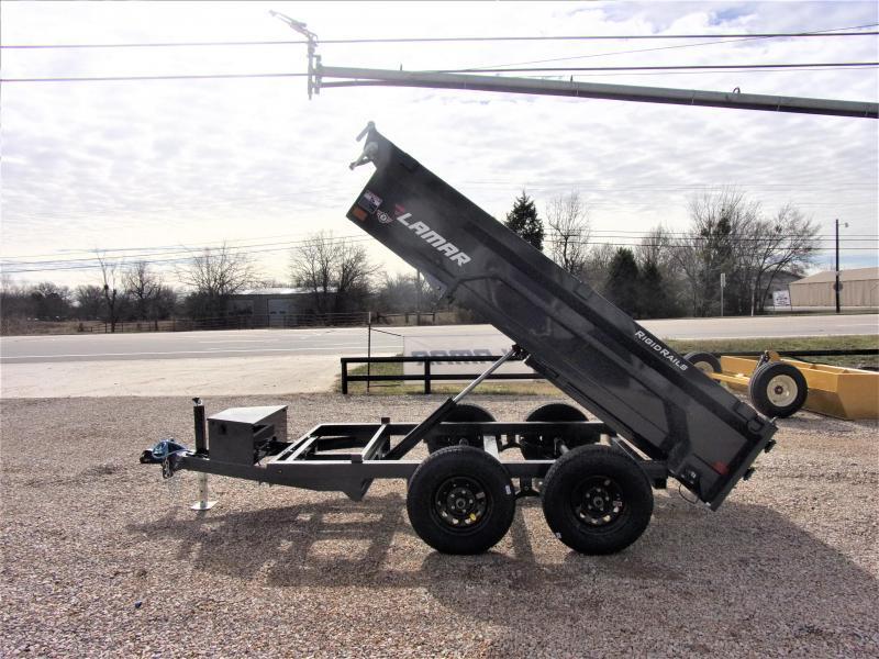 "2021 Lamar 60"" X 10' BUMPER PULL DUMP GVWR 7K"