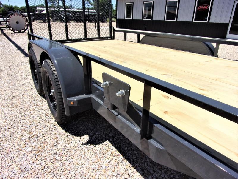 2021 Lamar Tandem Axle Commercial Utility Trailer 83 X 14 GVWR 7K