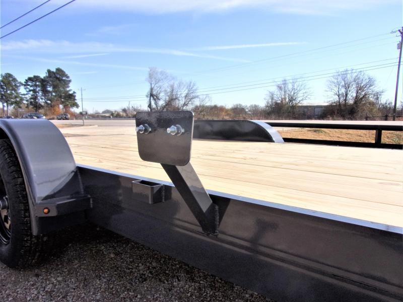 2021 Lamar Trailers 83''x20 Bumper Pull Econo Car Hauler GVWR 7K