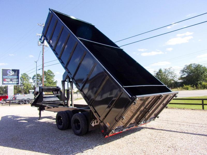 2022 Load Trail 102 x 20 Tandem Dual Deck over Dump Trailer GVWR 24K
