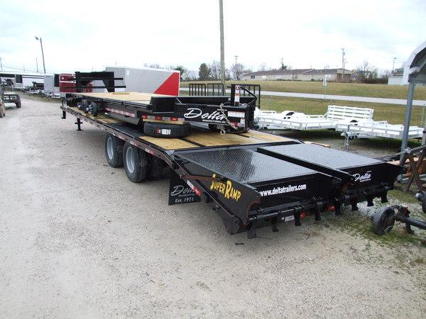 2020 Delta 20' Tilt Equipment Trailer