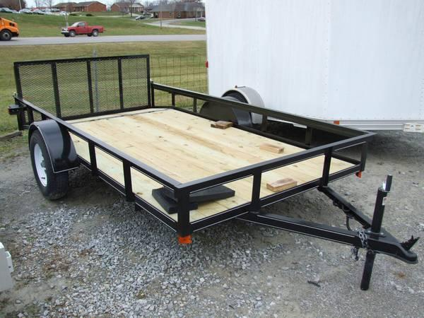 Custom Built Steel Utility Trailers