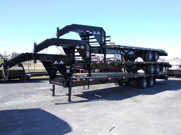 Sure-Pull Flatbed Trailers