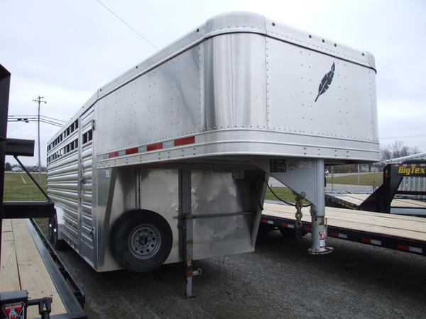 2019 Featherlite 8127 7 x 20 Stock Trailer