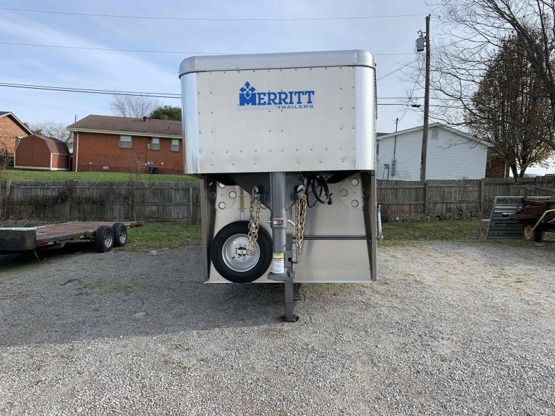 2021 Merritt Equipment NO16E 28'0X080 Livestock Trailer