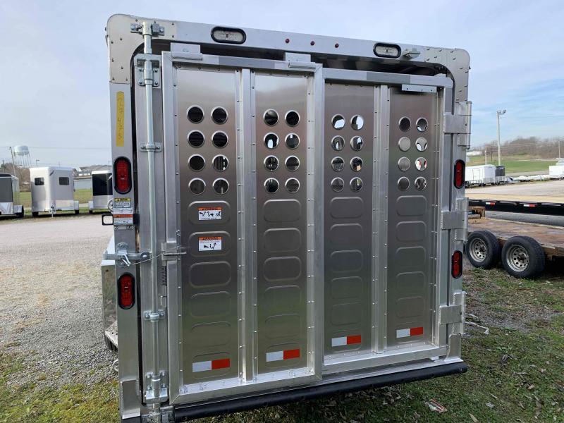 2021 Merritt Equipment NO16E 28'0X080 Livestock Trailer