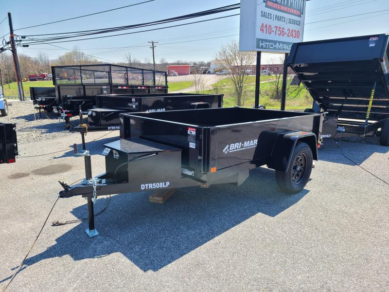5 X 8 Bri-Mar R Series Low Pro Dump Trailer 3K