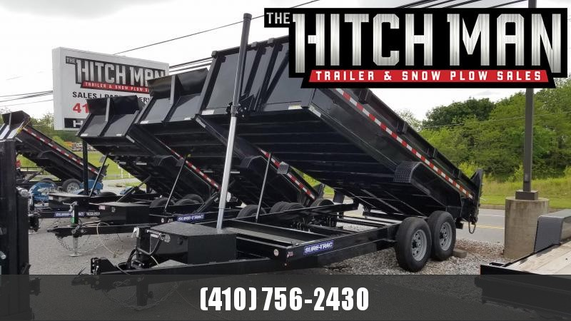 7 x 16 Sure-Trac Telescopic HD Dump Trailer 14k