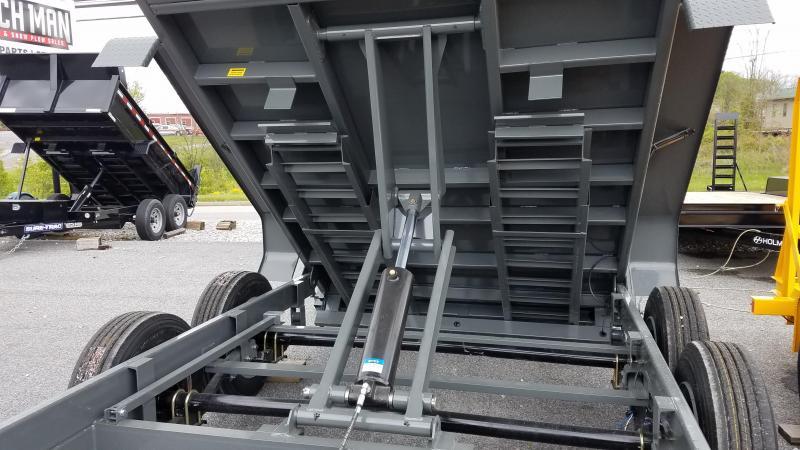 "82"" X 14 Sure-Trac HD LProfile 16K Scissor Dump"