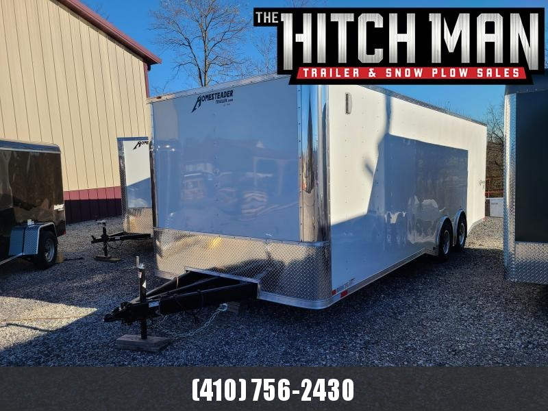 8 5 x 24 Homesteader Champion SGT 10k Enclosed Car Hauler