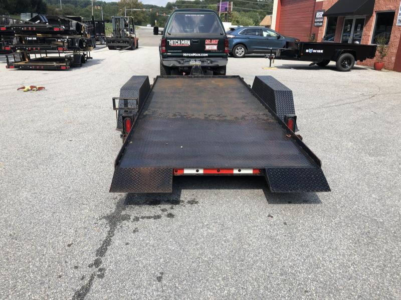 Used 2000 7X16 Hudson Equipment Trailer 12.5k