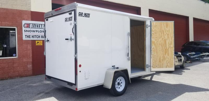Car Mate 6 x 12 Custom Enclosed Cargo Trailer 3k