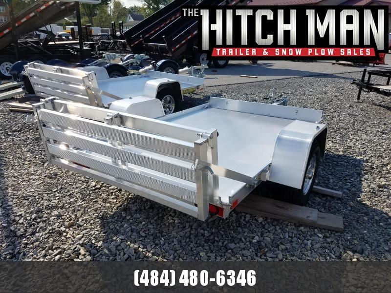 "Aluma 638 5' 3"" x 8' Aluma 638 Aluminum Utility Trailer 2k"