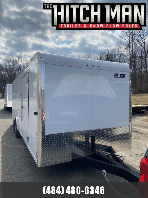 2021 Car Mate Trailers CM824C-CT Car / Racing Trailer