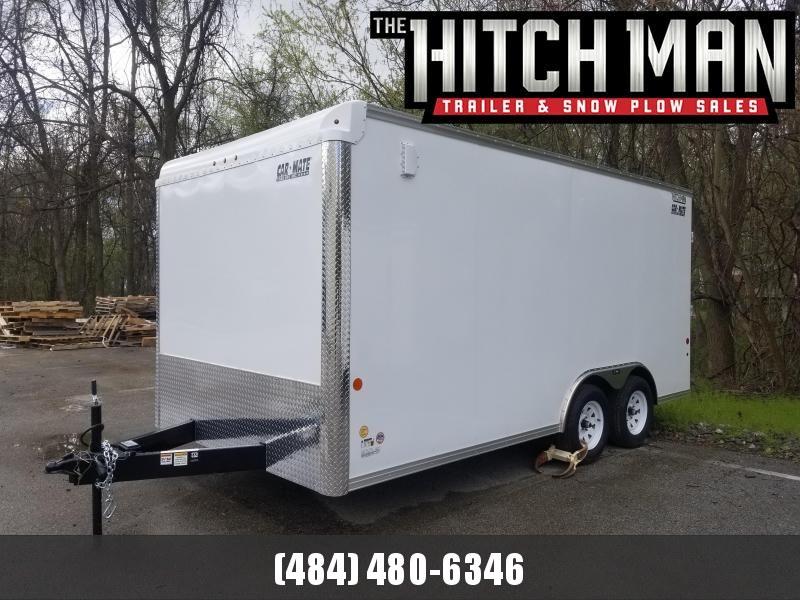 8 x 16 Car-Mate Custom Cargo 7k