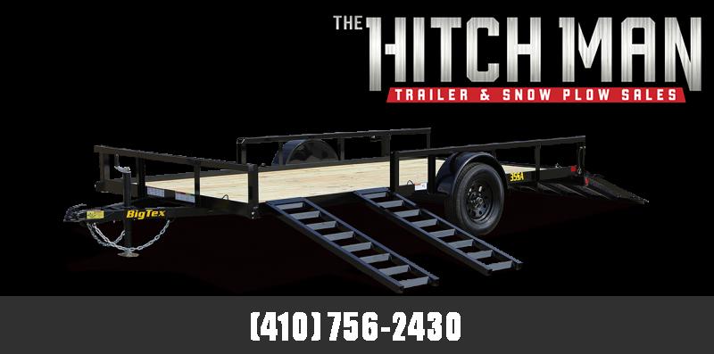 7' x 14' Big Tex Single Axle ATV Utility Trailer 3K  **w/ 5' Side Ramps