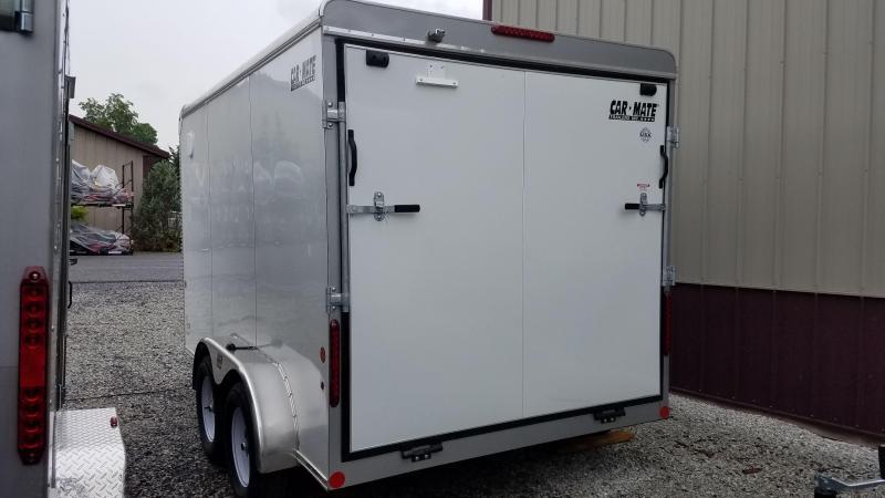 7 x 12 Car-Mate Custom Cargo 7k White