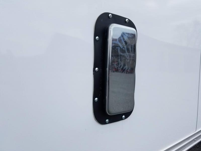 8.5 x 24 Car Mate Eagle Enclosed Car Trailer 10K