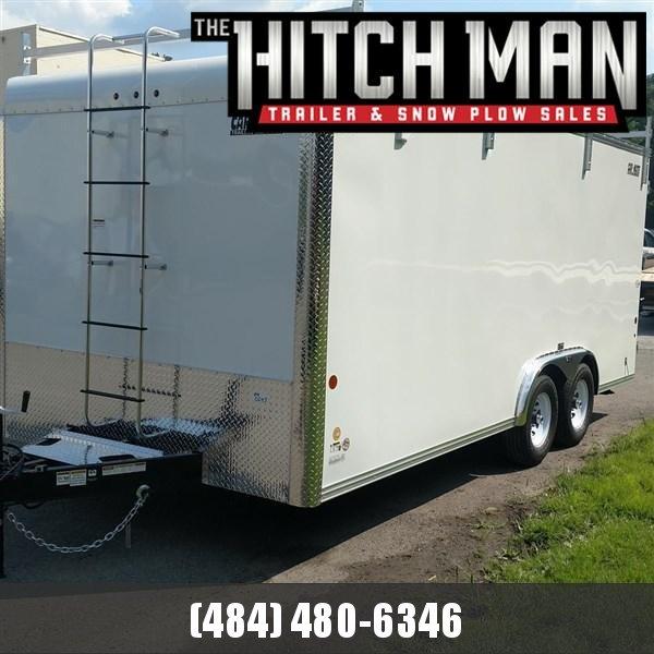8 x 18 Car-Mate Custom Contractor 10k