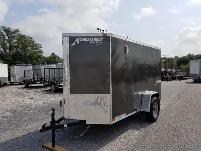 5 x 10 Homesteader Intrepid V-Nose Enclosed Cargo Trailer 3k