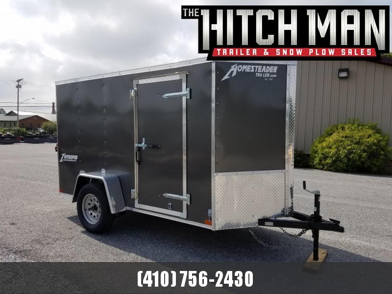 5 x 10 Homesteader Intrepid V Nose Enclosed Cargo Trailer 3k