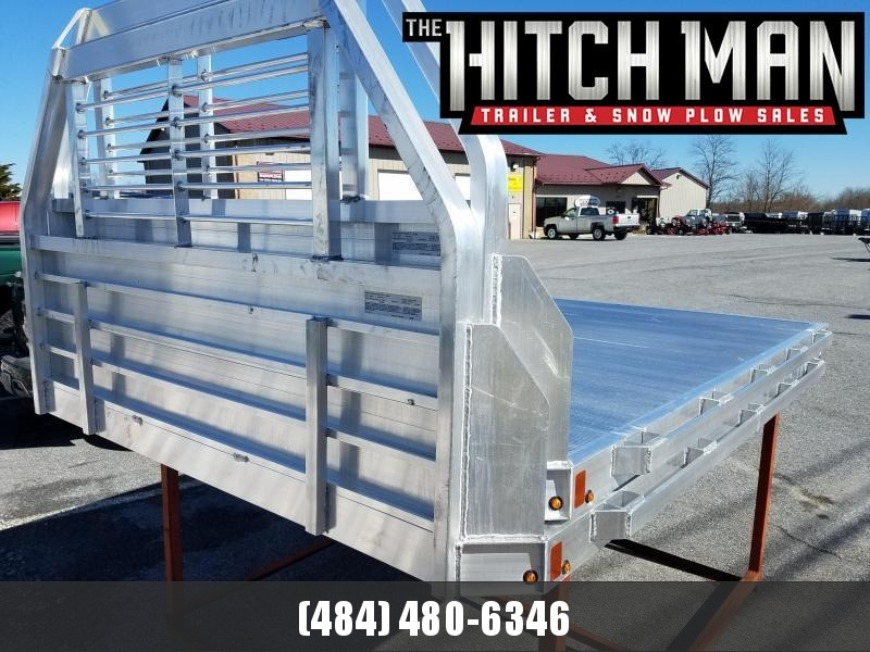 "96"" x 106"" ALUMA Aluminum Truck Bed - (8' Dually Trucks)"